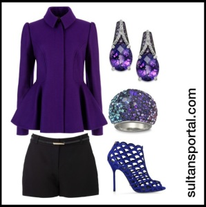 Look of the Day - Some what Purple