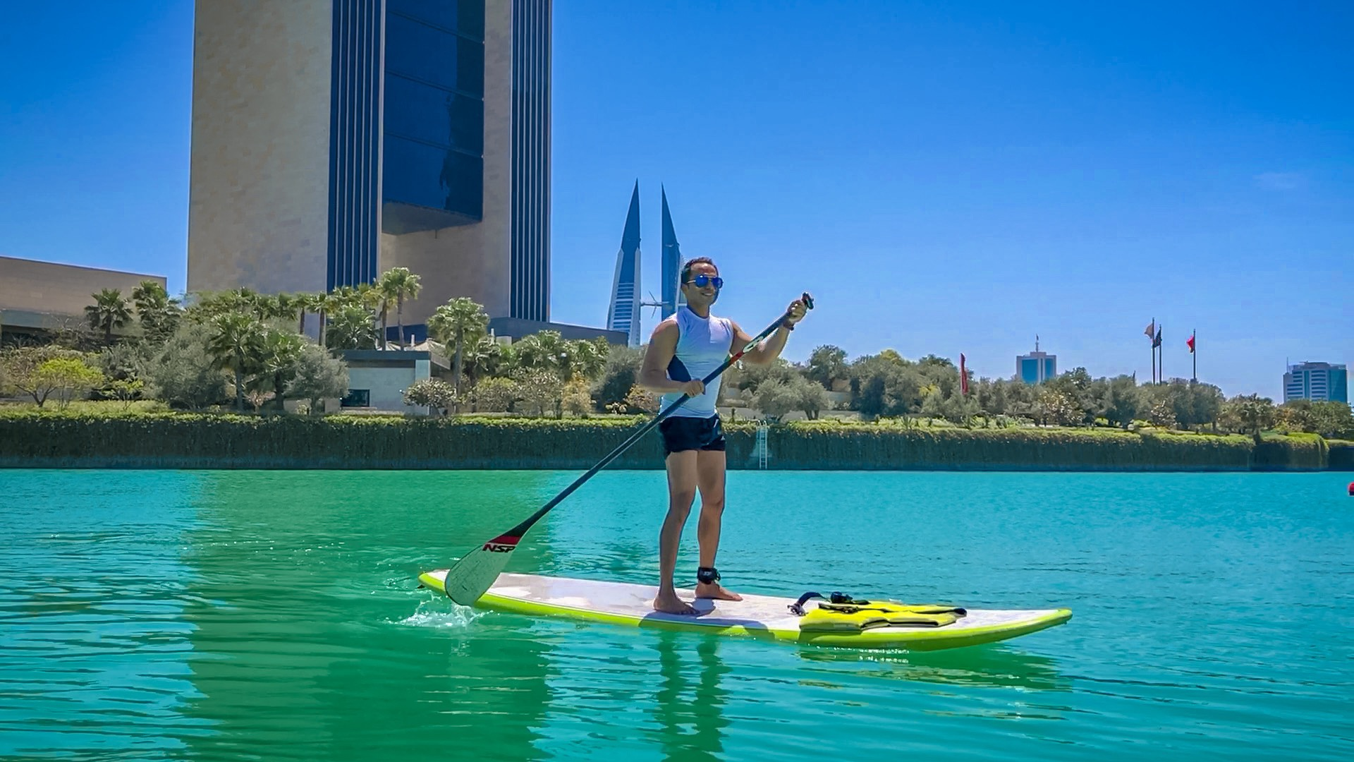 Paddle Boarding (Beach Culture Bahrain)